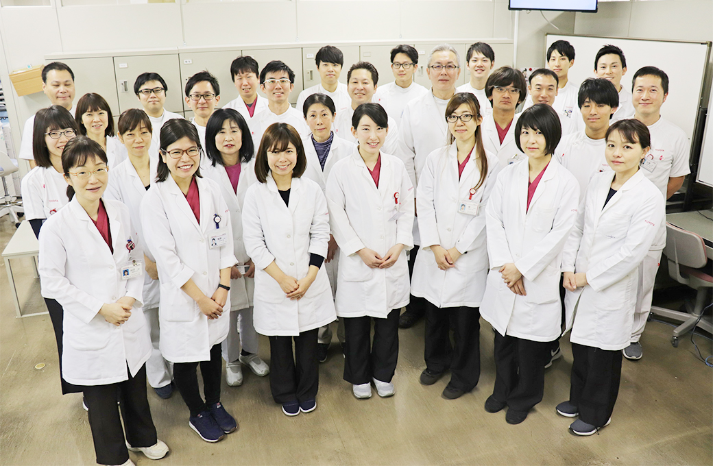 トヨタ記念病院 薬剤科 集合写真